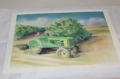 Two Cylinder Club John Deere 620 Orchard Print By Laut Elrod 252 of 400 MINT