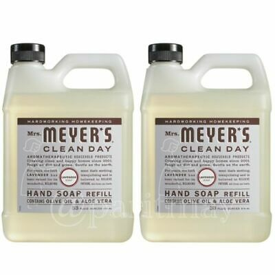 Clean Day Liquid Hand Soap Refill LAVENDER 33 fl oz. (Pack of 2)