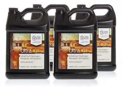 UltraCruz Hydrogen Peroxide, 3%, 4 x 1 Gallon