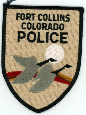 AVON POLICE COLORADO CO COLORFUL PATCH STYLE #2 SHERIFF