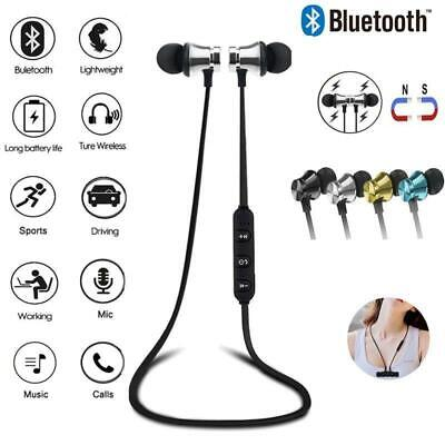 Sports Bluetooth Wireless Headphones Earphones Earbuds Stereo Headset Extra Bass
