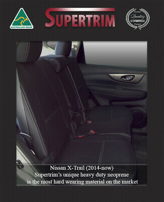 Waterproof Premium Neoprene FB + MP Seat Cover for Nissan X-Trail X Trail Front