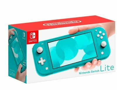 Nintendo Switch Lite Handheld Console 32GB  - Turquoise - New - In Stock Now!
