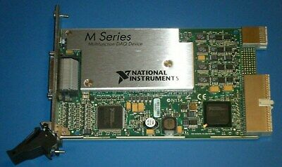 NI PXI-6289 32ch 18bit M-Series Multifunction DAQ, National Instruments *Tested*