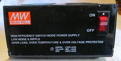 Meanwell high efficiency switch mode power Supply, low noise and ripple