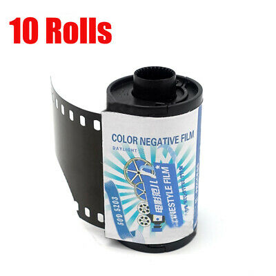 10 Rolls Kodak Vision3 50D/5203 ISO 50 35mm Cine 135-36EXP Color Negative 2017