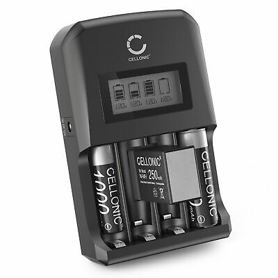 HP PhotoSmart C500 Digital Camera Battery Charger Replacement for 4 AA NiMH 2800mAh Rechargeable Batteries with Charger