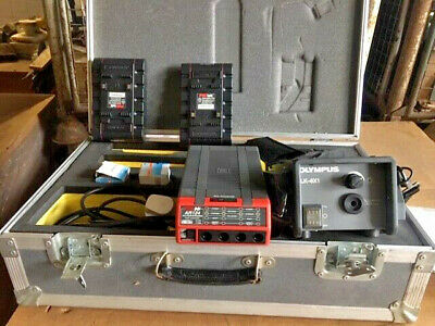 Olympus Light Source Box ILK-6X1 and PAG AR124 Fast Charger with Accessories