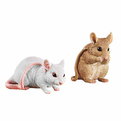 Charming Mice Garden Figurines Set - Set of 2
