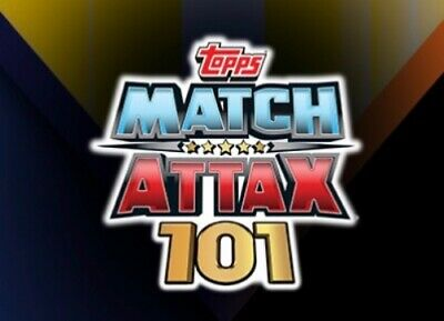 TOPPS MATCH ATTAX 101 2019/20 19/20 CHOOSE FROM EVERY CARD inc 100 CLUB