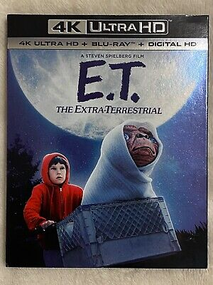 E.T. THE EXTRA-TERRESTRIAL (1982) - 4K Ultra HD UHD disc only No Blu-ray DigCopy