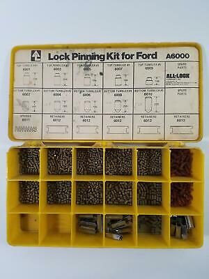 Lock Pinning Kit Ford A6000 Pin Kit Rekey