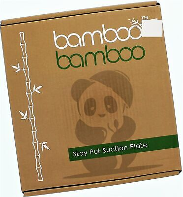 Bamboo Toddlers Suction Plate