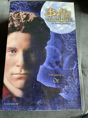 "Sideshow Buffy The Vampire Slayer Seth Green as Oz 12"" action figure doll NEW"