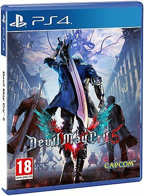 Devil May Cry 5 Ps4 Gioco Nuovo Sigillato Italiano Sony Playstation 4 Originale