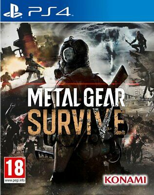 Metal Gear Survive Ps4 Gioco Nuovo Sigillato Italiano Sony Playstation 4 Dvd Cd