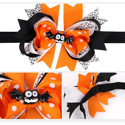 Spider Bat Bow Headband Hair Band Head Wear Halloween Party Props Ornaments MP