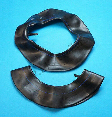"""Pack of 2 Replacement Inner Tubes 480 / 400 x 8 for 8"""" Trailer Wheels / 350 x 8"""