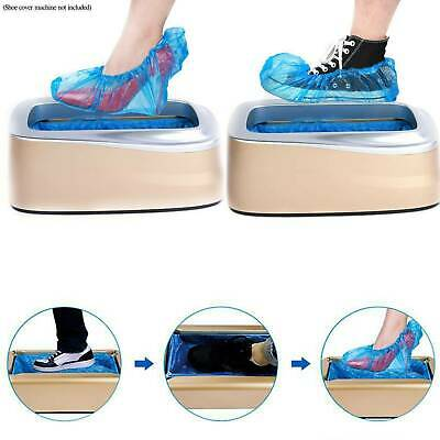 Disposable Automatic Shoe Covers Overshoes Dispenser Machine for Home Office Lot