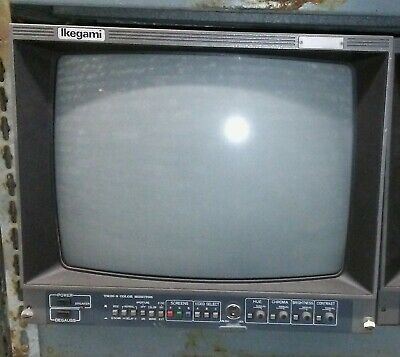 Ikegami TM20-9 Color CRT Video Monitor 19""