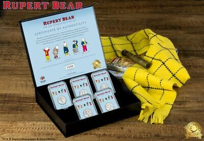 Rupert Bear 2020 Isle Of Man 50p Capsuled Coin Set Limited Edition Only 1 left