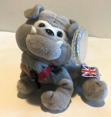 "Coca-Cola International Bean Bag Collection #5 /""Dover-The Bulldog/"" England NWT"