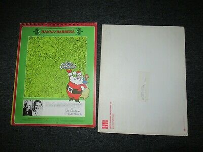 Vintage 1975 Hanna Barbera Cartoon Calendar W/ Mailer