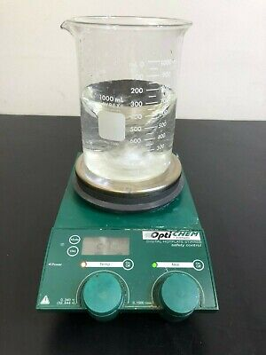 Chemglass Hot Plate Magnetic Stirrer Optichem Stirring Digital Heat WARRANTY