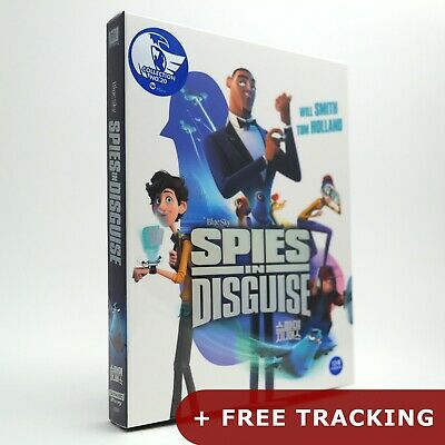 Spies In Disguise  4K UHD + Blu-ray Steelbook Limited Edition / WeET
