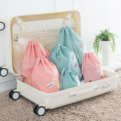 Suitcase Shoes Underwear Travel Storage Bag Cartoon Waterproof Clothes Organi`AU
