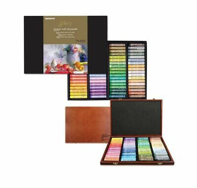 [Mungyo] MOPV-72 Soft Oil Pastels Paper Box Set of 72 Assorted Colors