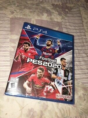 eFootball Pro Evolution Soccer (PES) 2020 for Sony PlayStation 4 *NEW*