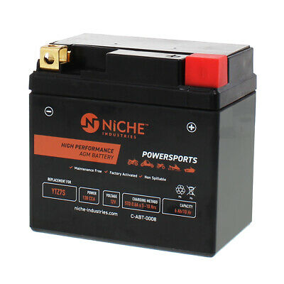 NICHE AGM Battery High Performance 1985-2018 E-Ton Honda Kymco Yamaha YTZ7S