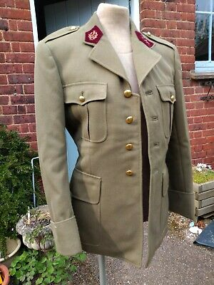 French Military Jacket Tunic Vintage New Old Stock