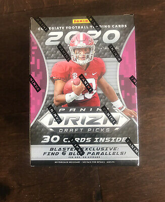 2020 Panini Prizm Draft Picks Collegiate Football Blaster Box Sealed Burrow RC ?