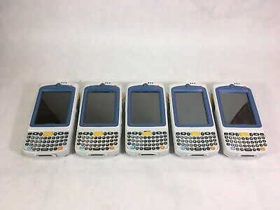 Lot of 5 - Motorola Symbol MC75A0 Handheld Mobile Computer Barcode Scanners -RR