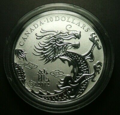 2012 Canada $10 Year Of The Dragon