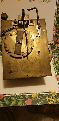 Old  long case clock movement