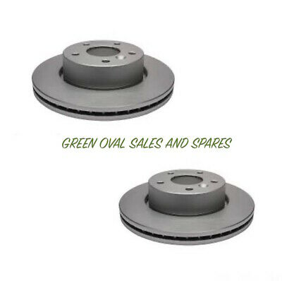 Land Rover Range Rover P38 Pair of Front Vented Brake Discs NTC8780