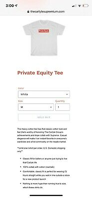 Patriot Act Hasan Minhaj Carlyle Supremium Private Equity Shirt M RARE SOLD OUT