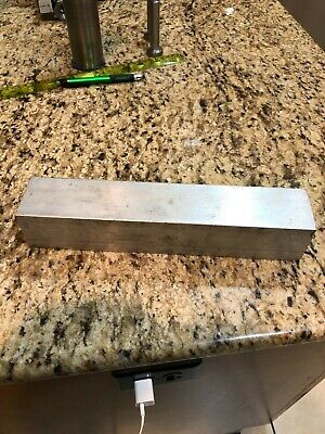 "6061 Aluminum  Square  Bar 2"" X 2"" X 10-5/8 Inches Long"
