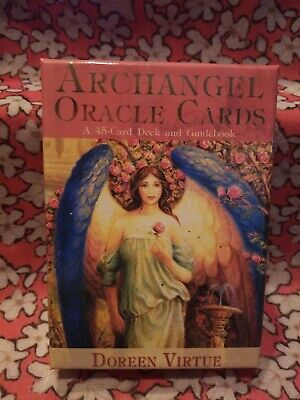 Doreen Virtue ARCHANGEL ORACLE CARD Deck WITH 45 PAGE GUIDEBOOK Out of Print!