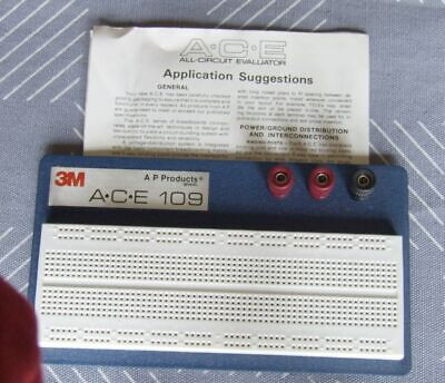 3M AP Products Solderless Breadboard, ACE 109 - Part #923336, never used