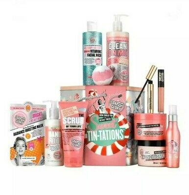 Soap and Glory Sweet Tin-Tations Gift Set, New, Worth over £80