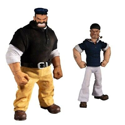 Popeye & Bluto: Stormy Seas Ahead Deluxe Box Set 1/12. One:12 Collective (PRE-OR