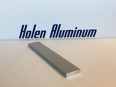 "3/4"" x 3-1/2"" ALUMINUM FLAT BAR 14"" LONG 6061 T6 SOLID MILL FINISH"