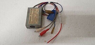PIONEER CD-RD100 RCA To DIN Adaptor Original Component Centrate vintage NOS rare