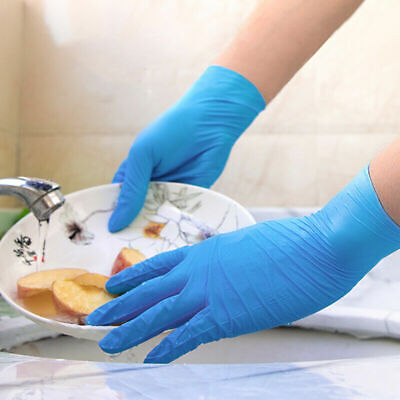 Protect Gloves Nitrile Non Latex/vinyl Powder Free, Lab Safety, Food Work 50/100