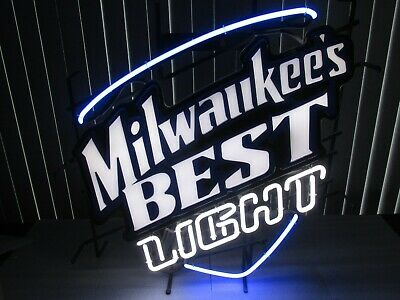 Miller Milwaukee's BEST Light Neon Light LARGE RARE LOCAL PICK UP ONLY