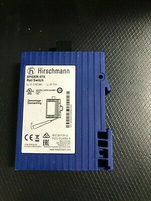 Hirshmann Rail Switch  Spider 5Tx   *New